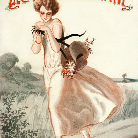 La Vie Parisienne 1924 Juni 7 Armand Vallee crop | Best of Vintage Cover Art 1900-1970