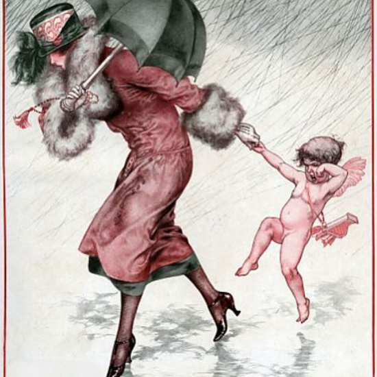 La Vie Parisienne 1924 L Amour Mouille Cheri Herouard crop | Best of Vintage Cover Art 1900-1970