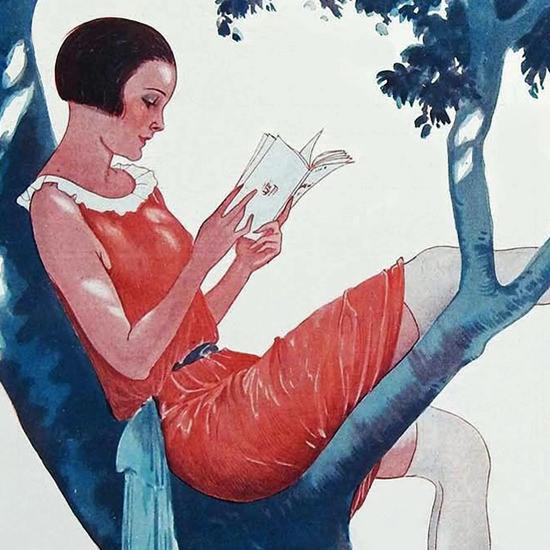 La Vie Parisienne 1924 Le Denicheur Georges Leonnec crop B | Best of 1920s Ad and Cover Art