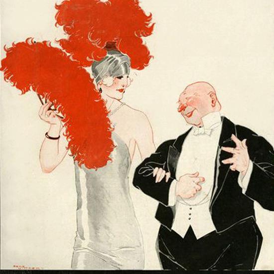 La Vie Parisienne 1924 Le Tartarin Rene Vincent crop | Best of 1920s Ad and Cover Art