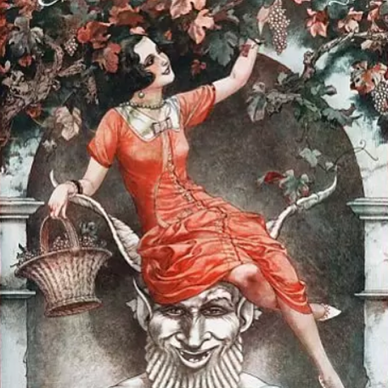 La Vie Parisienne 1924 Octobre 11 Cheri Herouard crop | Best of Vintage Cover Art 1900-1970