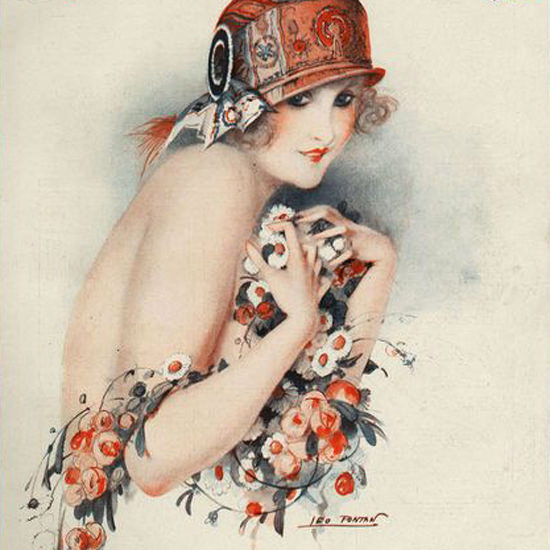 La Vie Parisienne 1924 Premiers Emois Leo Fontan crop | Best of Vintage Cover Art 1900-1970