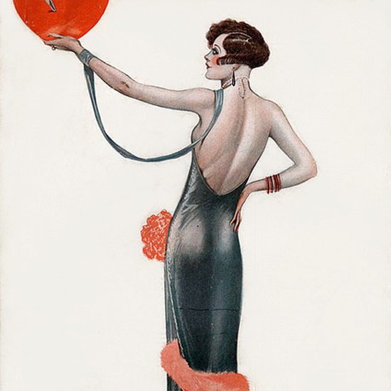 La Vie Parisienne 1925 A Tout Coeur On Gagne Georges Leonnec crop | Best of 1920s Ad and Cover Art