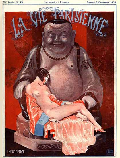 La Vie Parisienne 1925 Innocence Sex Appeal   Sex Appeal Vintage Ads and Covers 1891-1970