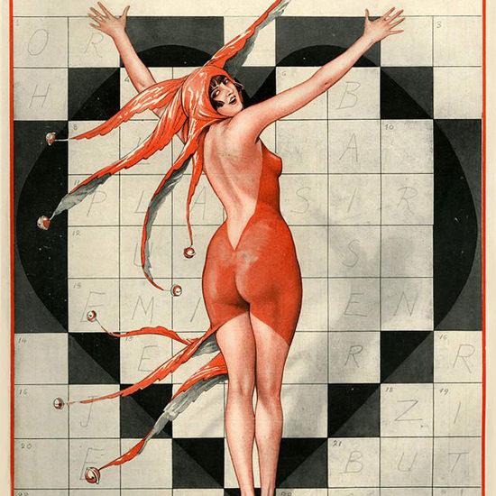 La Vie Parisienne 1925 La Folie Des Croisades ValdEs crop | Best of Vintage Cover Art 1900-1970