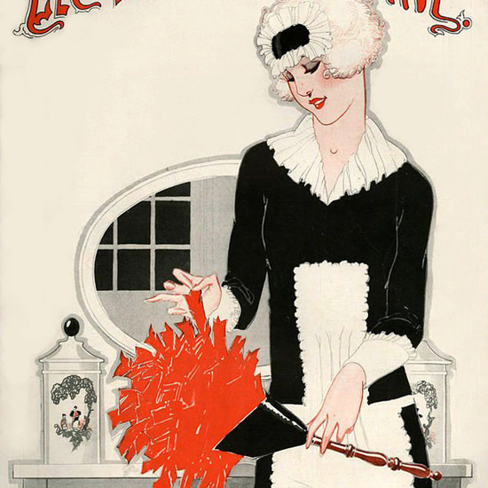 La Vie Parisienne 1925 Les Bagatelles De La Porte Rene Vincent crop | Best of 1920s Ad and Cover Art