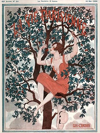 La Vie Parisienne 1925 Les Cerises Sex Appeal   Sex Appeal Vintage Ads and Covers 1891-1970