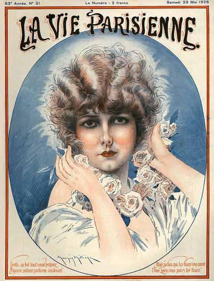La Vie Parisienne 1925 Lisette Sex Appeal   Sex Appeal Vintage Ads and Covers 1891-1970