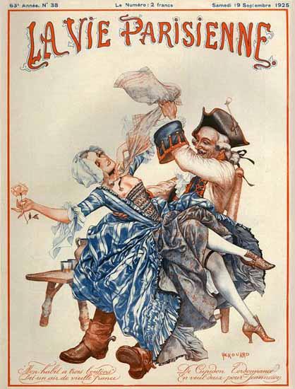 La Vie Parisienne 1925 Septembre 19 Sex Appeal | Sex Appeal Vintage Ads and Covers 1891-1970