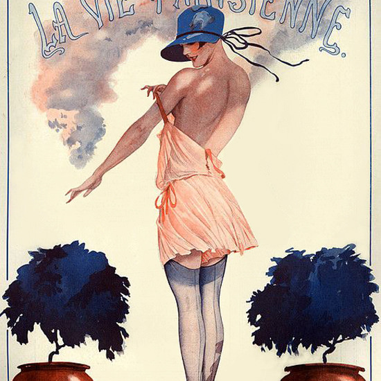 La Vie Parisienne 1926 Fais Que Te Plait Georges Leonnec crop | Best of 1920s Ad and Cover Art