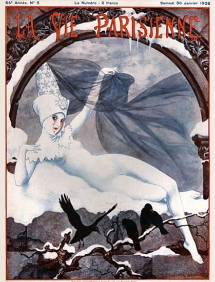 La Vie Parisienne 1926 Janvier 30 Sex Appeal | Sex Appeal Vintage Ads and Covers 1891-1970
