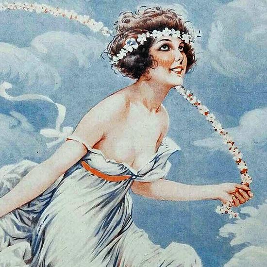 La Vie Parisienne 1926 Jeunesse Maurice Milliere crop B | Best of Vintage Cover Art 1900-1970