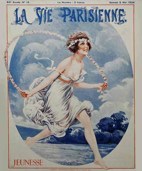 La Vie Parisienne 1926 Jeunesse Sex Appeal | Sex Appeal Vintage Ads and Covers 1891-1970