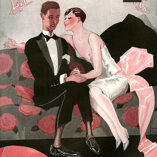 La Vie Parisienne 1926 L Ingenu Georges Leonnec crop | Best of 1920s Ad and Cover Art