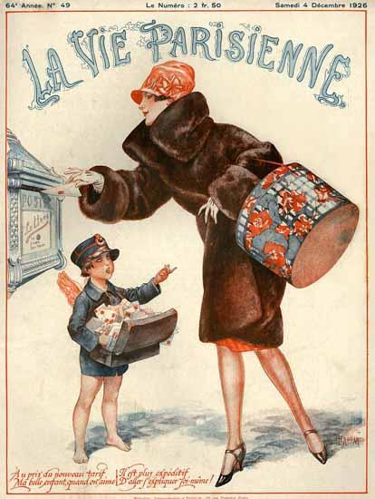 La Vie Parisienne 1926 La Lettre Sex Appeal   Sex Appeal Vintage Ads and Covers 1891-1970