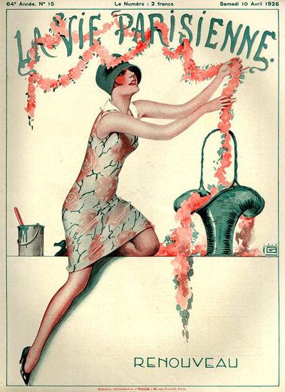 La Vie Parisienne 1926 Renouveau Paris France   Sex Appeal Vintage Ads and Covers 1891-1970