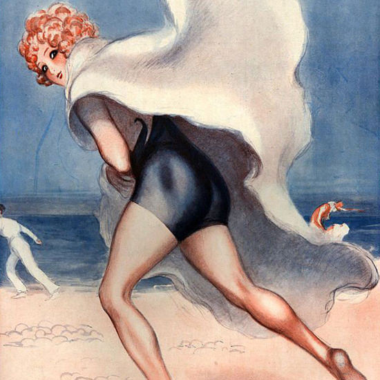 La Vie Parisienne 1926 Toutes Voile Dehors Armand Vallee crop | Best of 1920s Ad and Cover Art