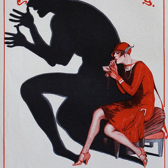 La Vie Parisienne 1926 Un Bon Petit Diable Leonnec crop | Best of Vintage Cover Art 1900-1970