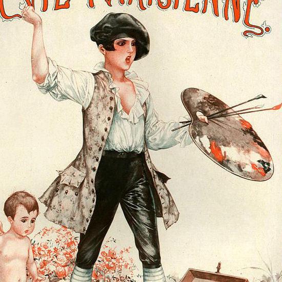 La Vie Parisienne 1927 Decorateur Cheri Herouard crop | Best of Vintage Cover Art 1900-1970