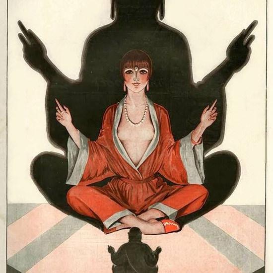 La Vie Parisienne 1927 L Idole Georges Leonnec crop | Best of Vintage Cover Art 1900-1970