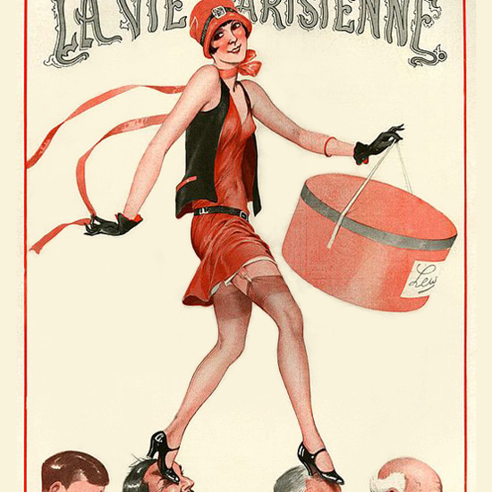 La Vie Parisienne 1927 Le Gue Georges Leonnec crop | Best of 1920s Ad and Cover Art
