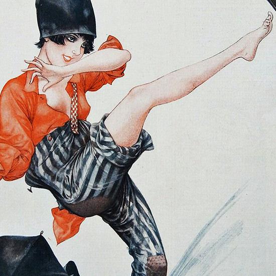 La Vie Parisienne 1927 Le Petit Fevrier Cheri Herouard crop B | Best of Vintage Cover Art 1900-1970
