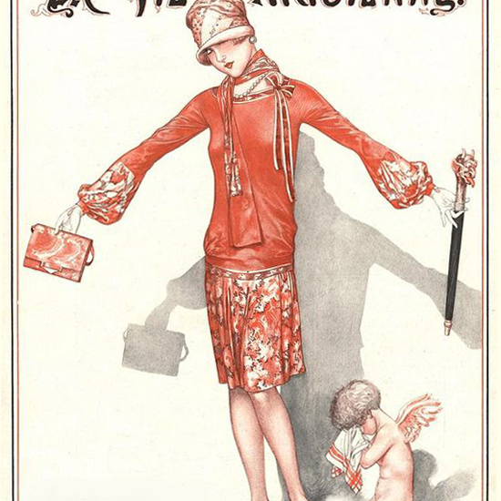 La Vie Parisienne 1927 Mai 14 Cheri Herouard crop | Best of 1920s Ad and Cover Art