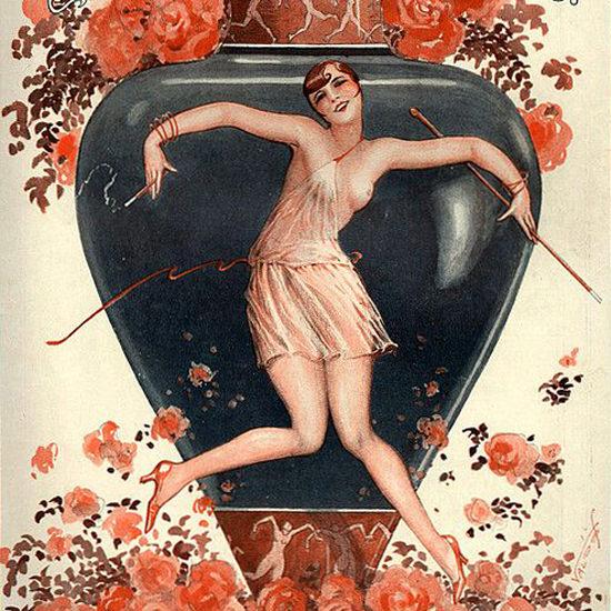 La Vie Parisienne 1927 Tanagra Moderne ValdEs crop | Best of 1920s Ad and Cover Art