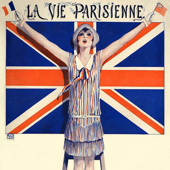 La Vie Parisienne 1928 A La British Legion Georges Leonnec crop | Best of 1920s Ad and Cover Art