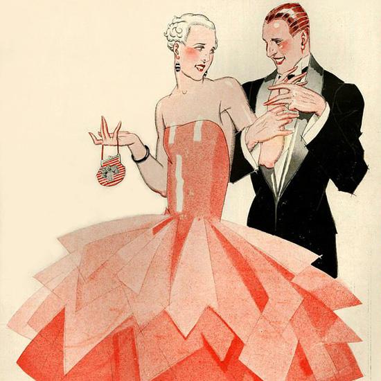 La Vie Parisienne 1928 Des Robes Actuelles Rene Vincent crop | Best of 1920s Ad and Cover Art