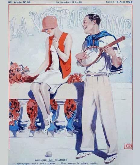 La Vie Parisienne 1928 Musique De Chambre Sex Appeal | Sex Appeal Vintage Ads and Covers 1891-1970