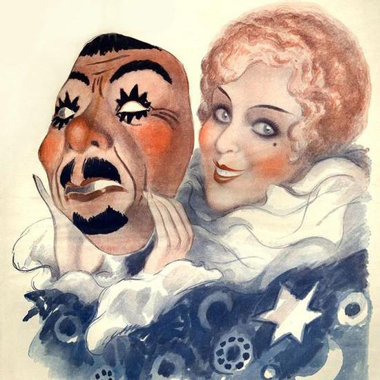 La Vie Parisienne 1929 Carnaval Est Parti Armand Vallee crop | Best of Vintage Cover Art 1900-1970