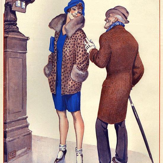 La Vie Parisienne 1929 La Greffe Georges Leonnec crop | Best of 1920s Ad and Cover Art