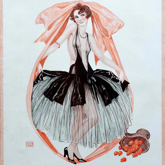 La Vie Parisienne 1929 Les Oeufs Georges Leonnec crop | Best of Vintage Cover Art 1900-1970