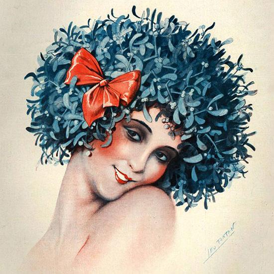 La Vie Parisienne 1929 Porte Bonheur Leo Fontan crop | Best of Vintage Cover Art 1900-1970