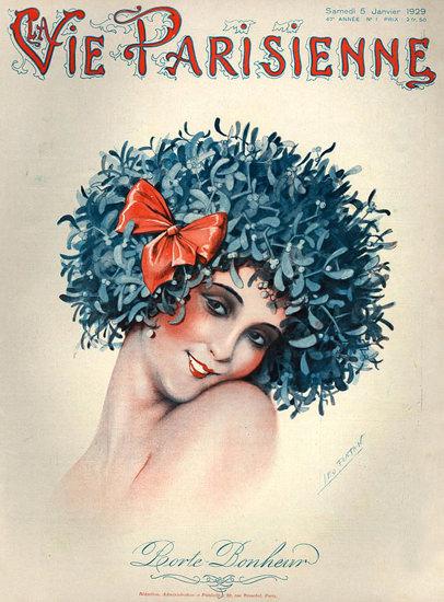 La Vie Parisienne 1929 Porte Bonheur | Sex Appeal Vintage Ads and Covers 1891-1970