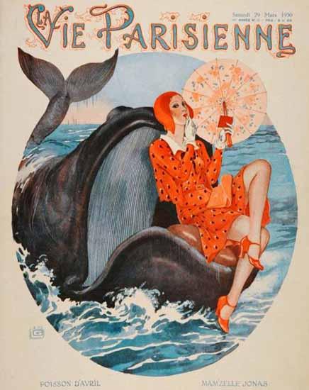 La Vie Parisienne 1930 Mamzelle Jonas Sex Appeal | Sex Appeal Vintage Ads and Covers 1891-1970