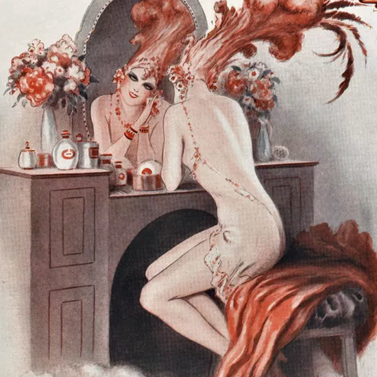 La Vie Parisienne 1930 Novembre 15 Armand Vallee crop | Best of 1930s Ad and Cover Art