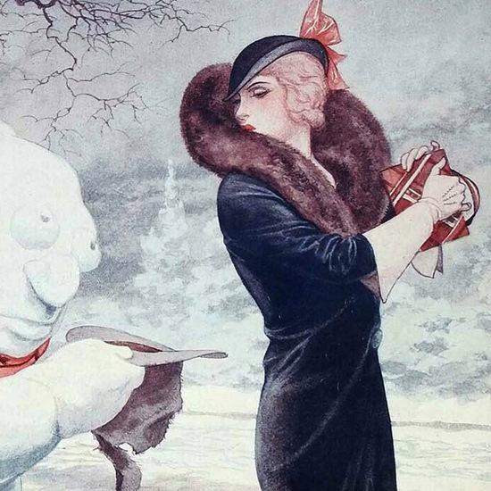 La Vie Parisienne 1931 Decembre 26 Cheri Herouard crop B | Best of 1930s Ad and Cover Art