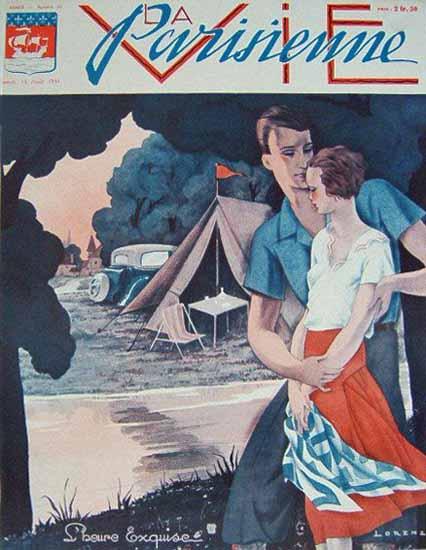 La Vie Parisienne 1931 L Heure Exquise Sex Appeal | Sex Appeal Vintage Ads and Covers 1891-1970