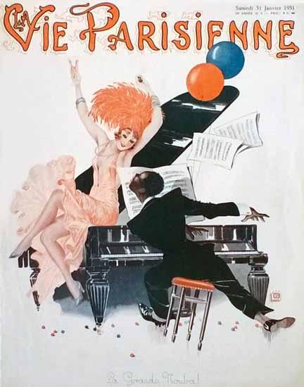 La Vie Parisienne 1931 La Grande Nouba Sex Appeal | Sex Appeal Vintage Ads and Covers 1891-1970