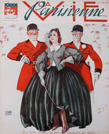 La Vie Parisienne 1931 Octobre 24 Sex Appeal | Sex Appeal Vintage Ads and Covers 1891-1970