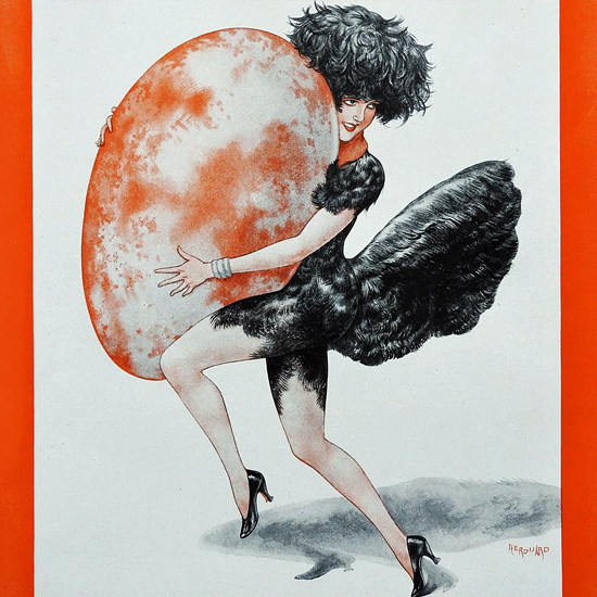 La Vie Parisienne 1931 Paques Cheri Herouard crop | Best of 1930s Ad and Cover Art
