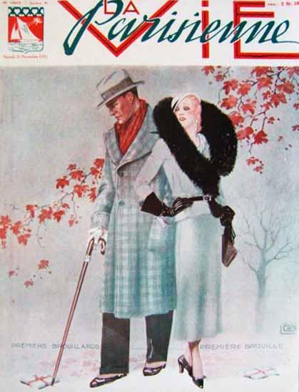 La Vie Parisienne 1931 Premiers Brouillards Sex Appeal   Sex Appeal Vintage Ads and Covers 1891-1970