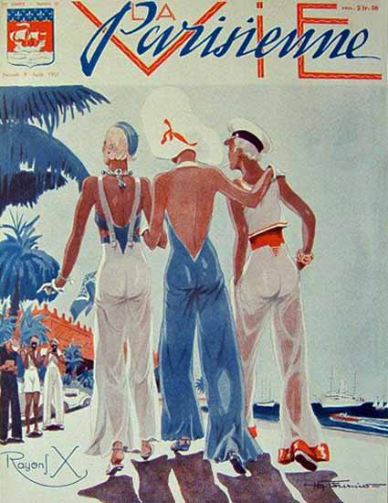 La Vie Parisienne 1931 Rayons X Sex Appeal | Sex Appeal Vintage Ads and Covers 1891-1970