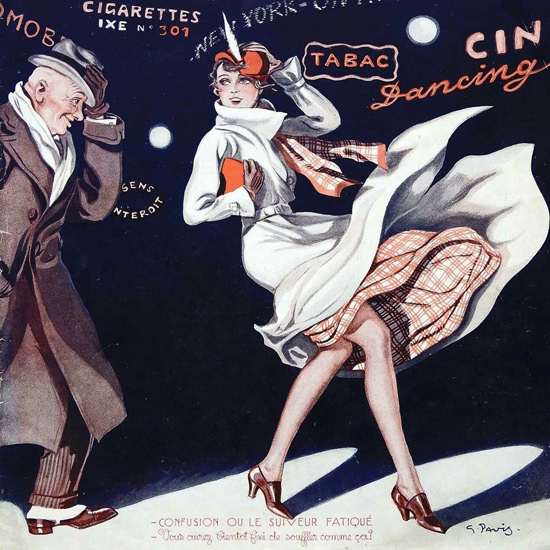 La Vie Parisienne 1932 Confusion Georges Pavis crop | Best of 1930s Ad and Cover Art