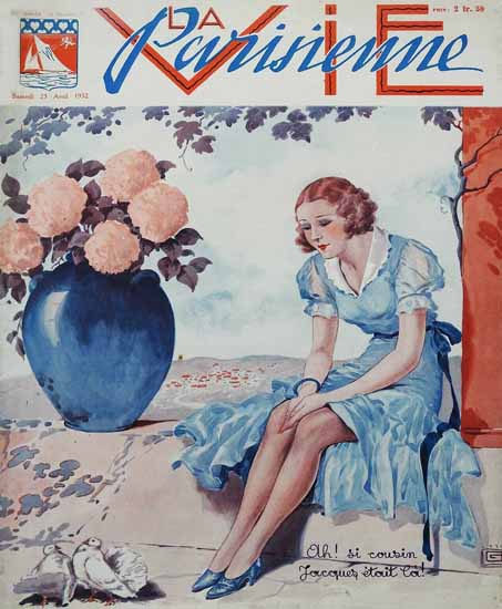 La Vie Parisienne 1932 Cousin Jacques Sex Appeal | Sex Appeal Vintage Ads and Covers 1891-1970