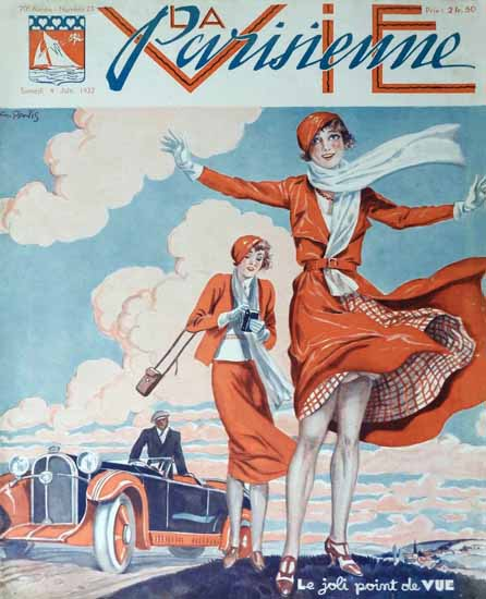La Vie Parisienne 1932 Le Joli Point De Vue Sex Appeal | Sex Appeal Vintage Ads and Covers 1891-1970