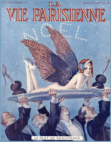 La Vie Parisienne 1932 Le Plat De Resistance Sex Appeal | Sex Appeal Vintage Ads and Covers 1891-1970