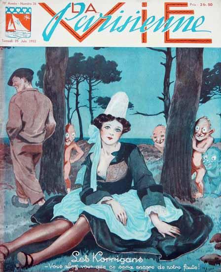La Vie Parisienne 1932 Les Korrigans Sex Appeal | Sex Appeal Vintage Ads and Covers 1891-1970